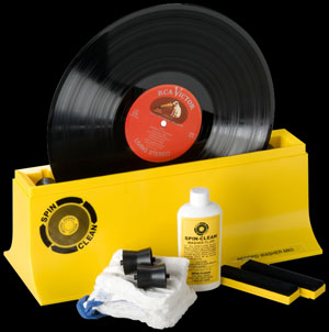 Spin Clean Record Cleaning System