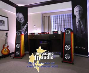 Thiel CS3.7 Sunburst with Simaudio SSI2011